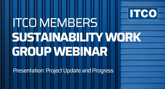 ITCO sustainability work group webinar 650x350
